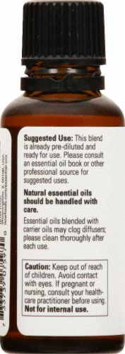 NOW Foods Rose Absolute Essential Oils Perspective: left