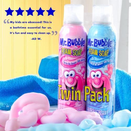 Mr. Bubble Foam Soap Twin Pack Perspective: left
