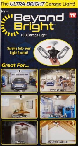 Beyond Bright LED Garage Light Perspective: left