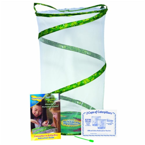 Insect Lore Butterfly Pavilion Growing Kit Perspective: left