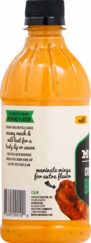 Moore's Creamy Ranch Buffalo Wing Sauce Perspective: left