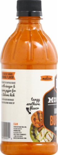Moore's Buffalo Wing Sauce Perspective: left