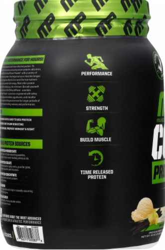 Muscle Pharm  Combat Protein Powder®   Vanilla Perspective: left
