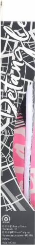 Wet Brush® Original Detangler® Black & White Hipster Brush Perspective: left