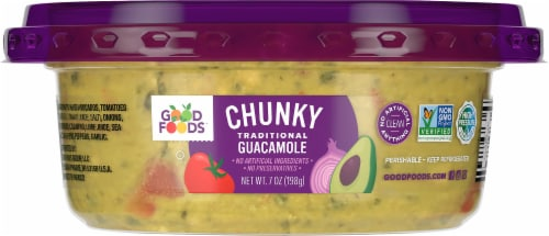 Good Foods Chunky Guacamole Perspective: left