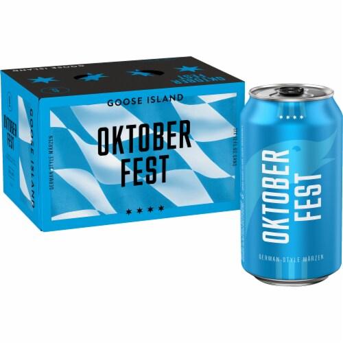 Goose Island Seasonal Beer Perspective: left