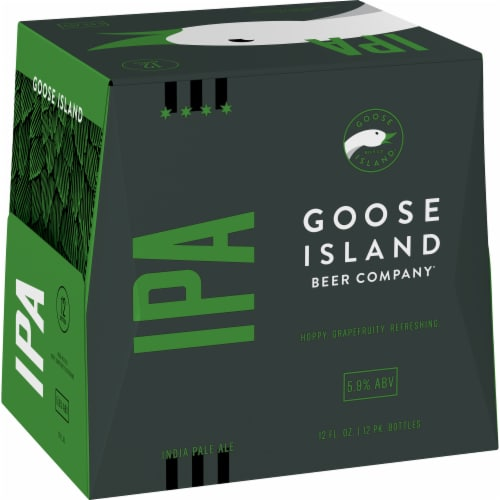 Goose Island IPA Perspective: left