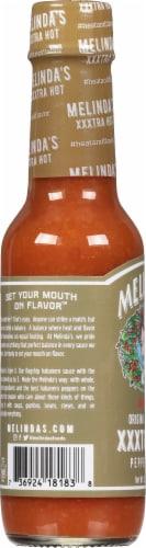 Melindas Xxx Hot Sauce Perspective: left