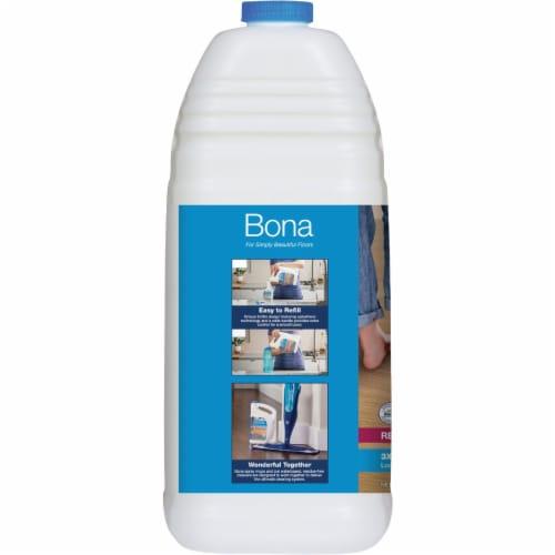 Bona PowerPlus 160 Oz. Ready-To-Use Hardwood Floor Cleaner Refill WM850056001 Perspective: left