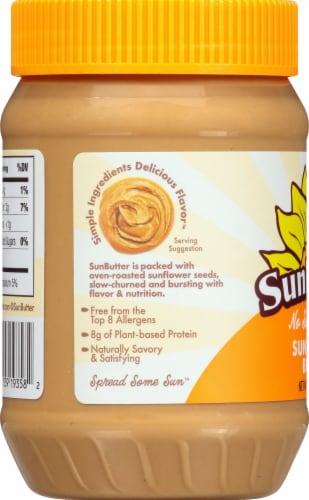 SunButter No Sugar Added Sunflower Butter Perspective: left