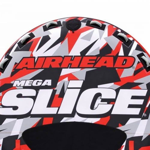 """Airhead AHSSL-42 Slice 100"""" Inflatable Double Rider Towable Lake Tube Water Raft Perspective: left"""
