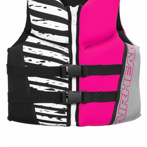 Airhead Wicked Neolite 50-90 Lb Pink Youth Life Vest Jacket   10077-03-B-HP Perspective: left