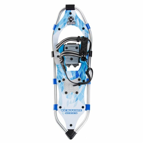 Yukon Charlie's Advanced 8 x 25 Inch Women's Snowshoe Kit with Poles and Bag Perspective: left