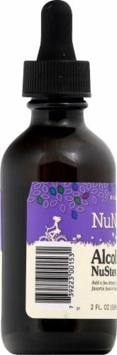 NuNaturals Vanilla NuStevia Herbal Supplement Perspective: left