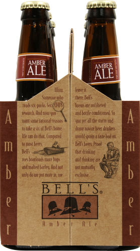 Bell's Brewery Amber Ale Perspective: left