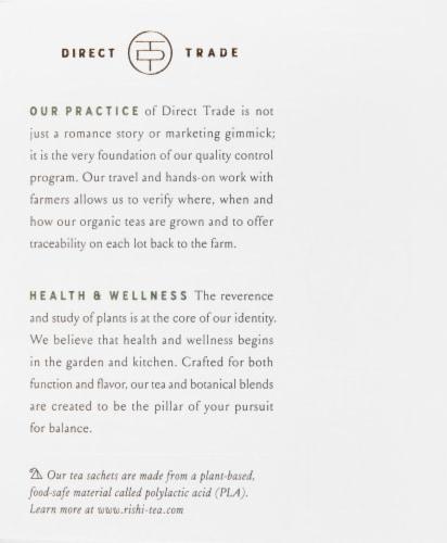 Rishi Organic Reishi Mushroom Hero Tea Sachets Perspective: left