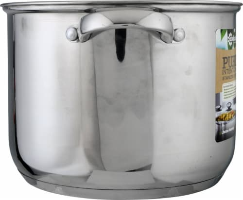 Ecolution Pure Intentions Polished Stockpot Perspective: left