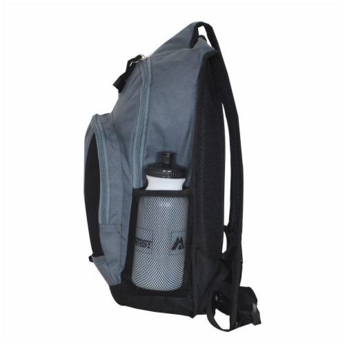 Everest Mini Hiking Pack - Dark Gray/Black Perspective: left