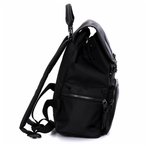 Everest Handbag Backpack - Black Perspective: left