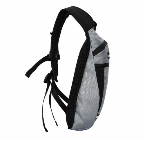 Everest Mound Hiking Pack - Gray/Black Perspective: left