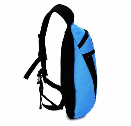 Everest Mound Hiking Pack - Royal Blue / Black Perspective: left