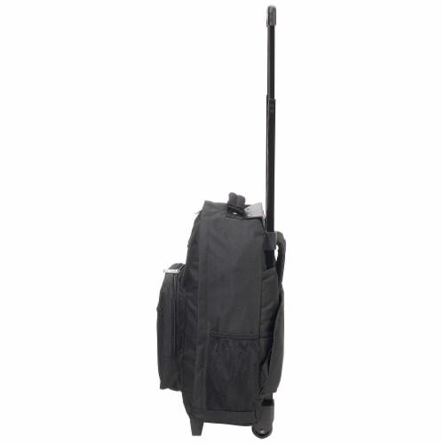 Everest Wheeled Backpack - Black Perspective: left