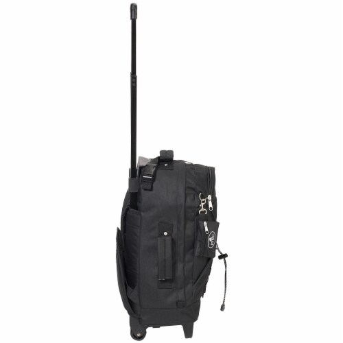 Everest Wheeled Backpack - Black Perspective: left