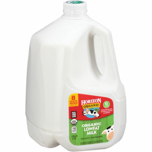 Horizon Organic 1% Lowfat Milk Perspective: left