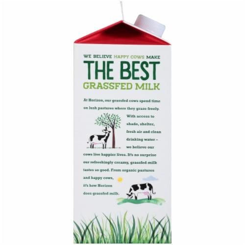 Horizon Organic Grassfed Whole Vitamin D Milk Perspective: left