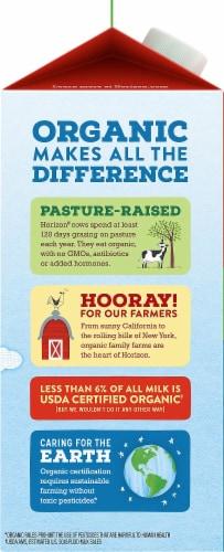 Horizon Organic Lactose-Free 2% Reduced Fat Milk Perspective: left