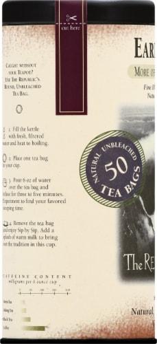 The Republic of Tea Earl Greyer Tea Bags Perspective: left