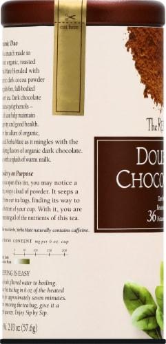 The Republic of Tea Double Dark Chocolate Mate Tea Bags Perspective: left