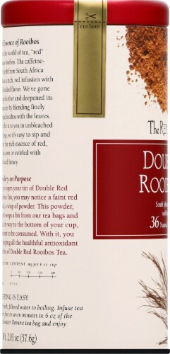 The Republic of Tea Double Red Rooibos Tea Bags Perspective: left