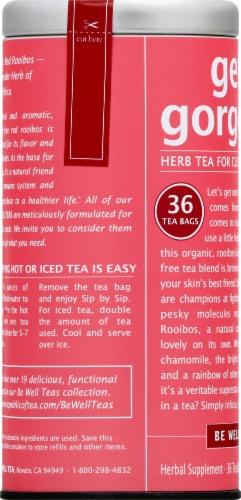 The Republic of Tea Get Gorgeous Herbal Tea Bags Perspective: left
