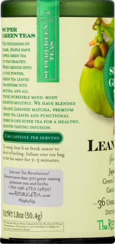 The Republic of Tea Lean green Super Green Tea Bags Perspective: left