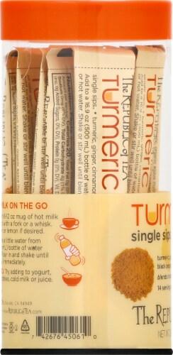 The Republic of Tea Turmeric Single Sips Perspective: left
