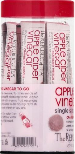 The Republic of Tea Organic Apple Cider Vinegar Single Sips Perspective: left