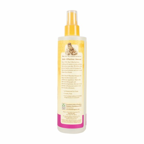 Burt's Bees Waterless Shampoo for Dogs Perspective: left