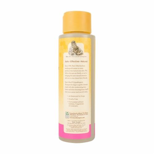 Burt's Bees Hypoallergenic Shea Butter & Honey Dog Shampoo Perspective: left
