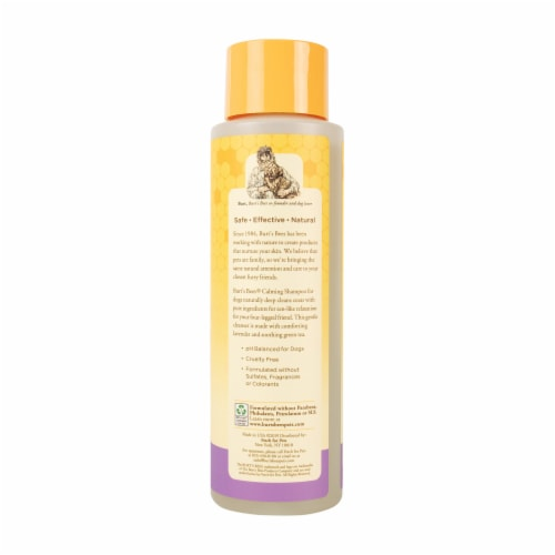 Burt's Bees Lavender & Green Tea Calming Shampoo for Dogs Perspective: left