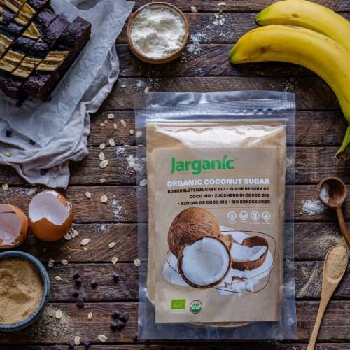 Organic Coconut Sugar 1 lb / 16 oz - Gluten-Free Vegan GMO-Free Paleo, Low Glycemic Index Perspective: left