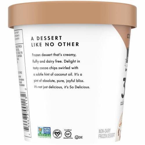 SO Delicious Cocoa Chip Non-Dairy Frozen Dessert Perspective: left