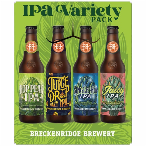 Breckenridge Brewery IPA Variety Pack Perspective: left