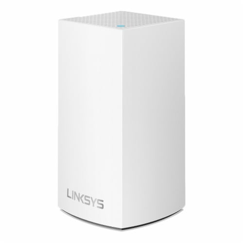 Linksys Velop Intelligent Mesh Wi-Fi System - White Perspective: left