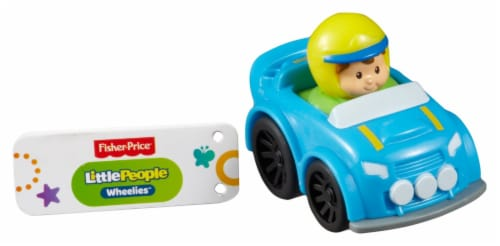 Fisher-Price® Little People Wheelies Rally Perspective: left
