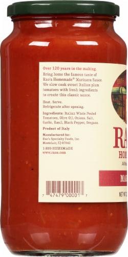 Rao's Homemade Marinara Sauce Perspective: left