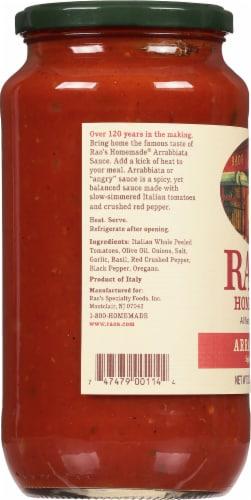 Rao's Homemade Arrabbiata Fra Diavolo Sauce Perspective: left