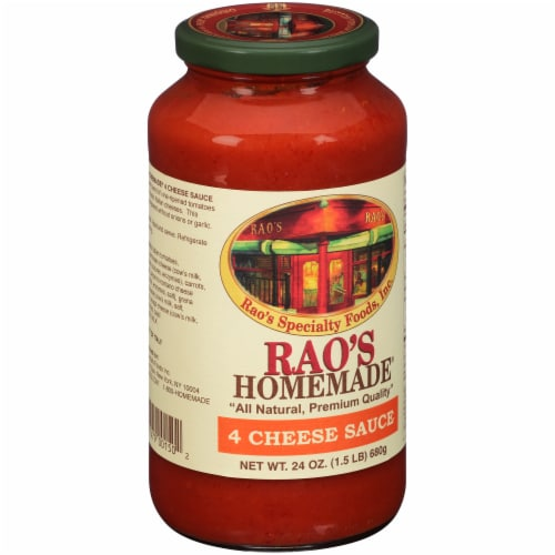 Rao's Homemade Four Cheese Pasta Sauce Perspective: left