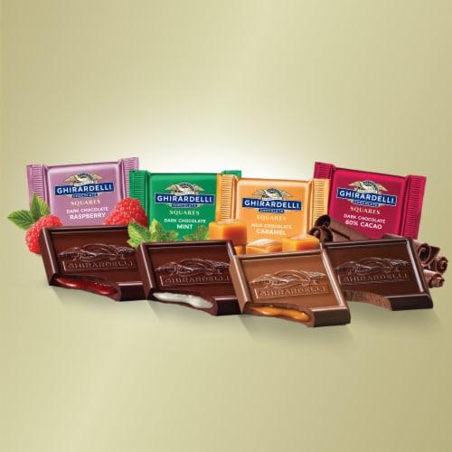 Ghirardelli® Premium Chocolate Squares Assortment Perspective: left