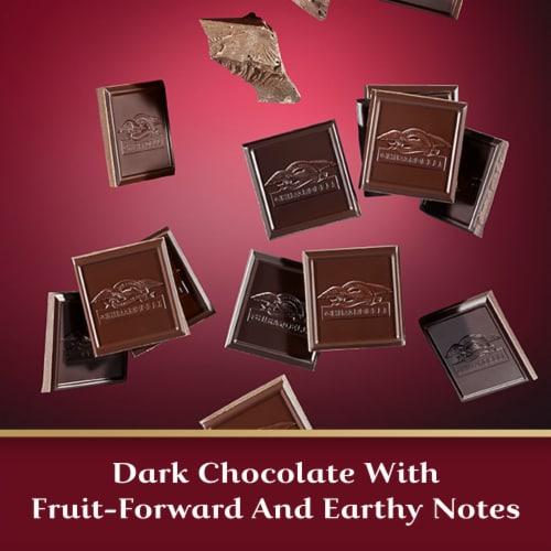 Ghirardelli Intense Dark 92% Cacao Chocolate Bar Perspective: left